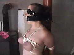 Choking, BDSM, Bound, Choking, Gagging, Slave