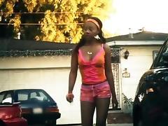 Hot black college girl