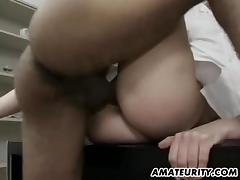 Amateur Milf anal threesome with cumshots tube porn video