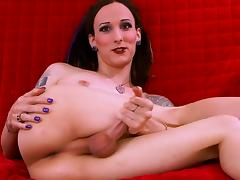 Both her ass and her stunning dick look breathtaking! porn tube video