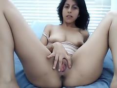 Brunette, Amateur, Blowjob, Brunette, Couple, Webcam