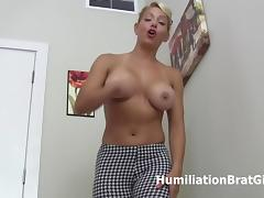 Mistress Sunshine busts your balls! tube porn video