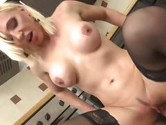 Hot milf and her younger lover 46