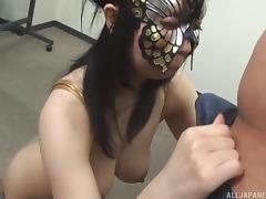 dirty japanese cosplay with tsukada shiori