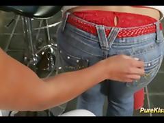 cute teens first lesbian experience porn tube video