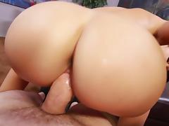 Petite Ava Dalush's cunt gets pounded in POV porn tube video