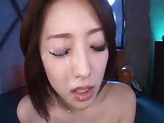 Breathtaking petite chick from Asia and two rock-solid boners