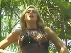 Amber Lynn Loves A Black Cock In Her Ass