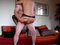 49yo MILF fucks for my cum on her ass