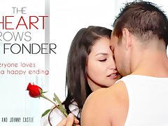 Allie Haze & Johnny Castle in The Heart Grows Fonder Video