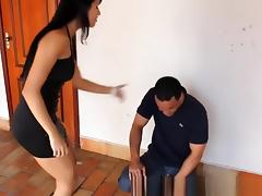Exotic Amateur clip with Femdom, Couple scenes