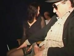 perverted notary take busty widow to the adult cinema tube porn video