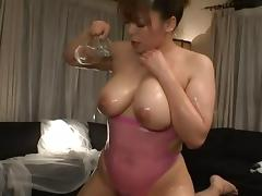 An Mitsuki has a huge pair of melons and is ready to have sex porn tube video