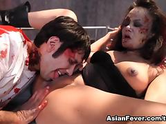Annie Cruz in Beyond Fucked: A Zombie Odyssey - AsianFever porn tube video