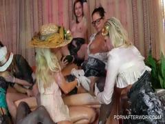 WAM party with lesbos making out tube porn video