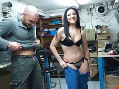 Backroom, Backroom, Backstage, Blowjob, Bra, Couple