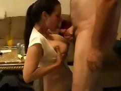I will be inlove with deepthroating and this girl large tit porn tube video