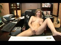 Blonde secretary pov office fuck by enormous dick tube porn video