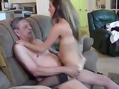 sluty blonde and her sugar Sweet older man porn tube video