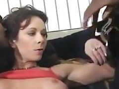 Mature bbc bareback gangbang - dble vag creampie
