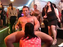 Hardcore orgy with lots of sexy night clubbing babes porn tube video