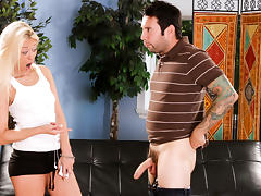 Rebecca Blue & Tommy Pistol in Boffing The Babysitter #17, Scene #01
