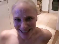 Amateur Big Facial 1 porn tube video