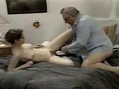 Hot grandpa fucks cunt porn tube video