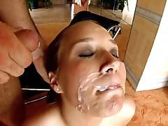 Misty Receiving a Double Facial