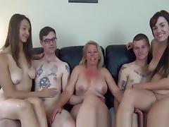 Best Amateur video with Big Dick, Group Sex scenes