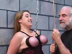 Bound, BDSM, Bondage, Boobs, Bound, Slave