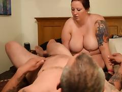 Fat pig whore gets milked again porn tube video