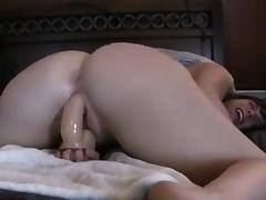 BBW with enormous butt that is awe-inspiring damp trip on d