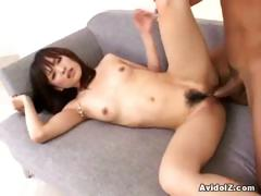 Slim Japanese Cunthole Going For Huge Dick