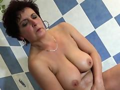 Bath, Bath, Bathing, Bathroom, Granny, HD