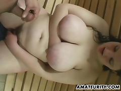 Chubby amateur girlfriend bathroom action porn tube video