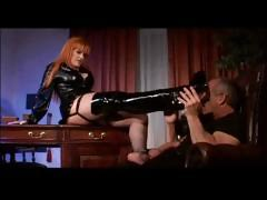 Office Dominatrix Fucks Boss tube porn video