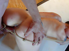 La Fleur in He Paid To Be Spanked - MagmaFilm