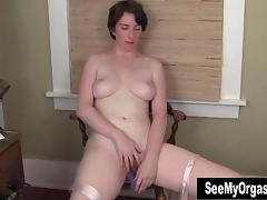 Tall Inara Masturbating Her Slit