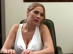 Big Tits, Big Tits, Hardcore, Punishment, Secretary, Spanking