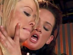 Angelina Valentine serves a toy dick doggystyle throbbing lesbian scene tube porn video