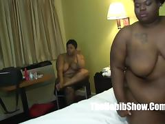 threesome skinny mexican jose  bbc redizlla fucks Sbbw lady