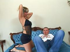 Blonde milf reverse cowgirl hardcore fuck (hd)