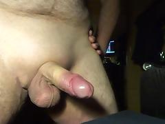 Precum and multiple cumshots (close up cam)