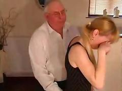 She get's a caning porn tube video