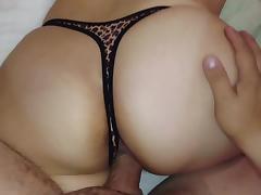 Bonus thong!! Big ass!!
