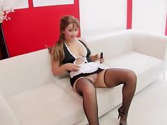 Maid Maturbating porn tube video