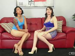 Dana Dearmond fucking sexy chick Dana Vespoli tube porn video
