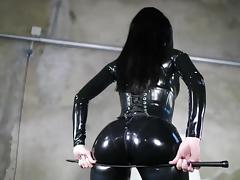 brit latex catsuit model tube porn video