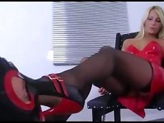 Blond Mistress facesit